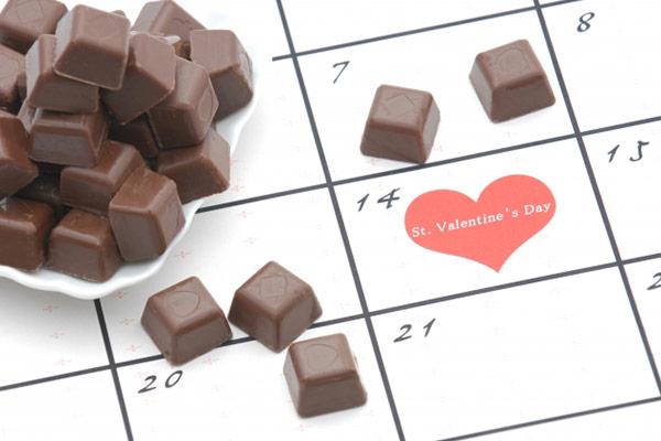 日にち バレンタイン バレンタイン2021はいつ?曜日や本来の由来などをご紹介