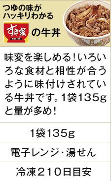 すき家の牛丼の具