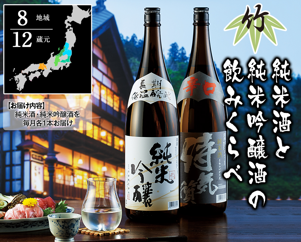 のんべえの全国酒蔵めぐり旅 竹コース紹介