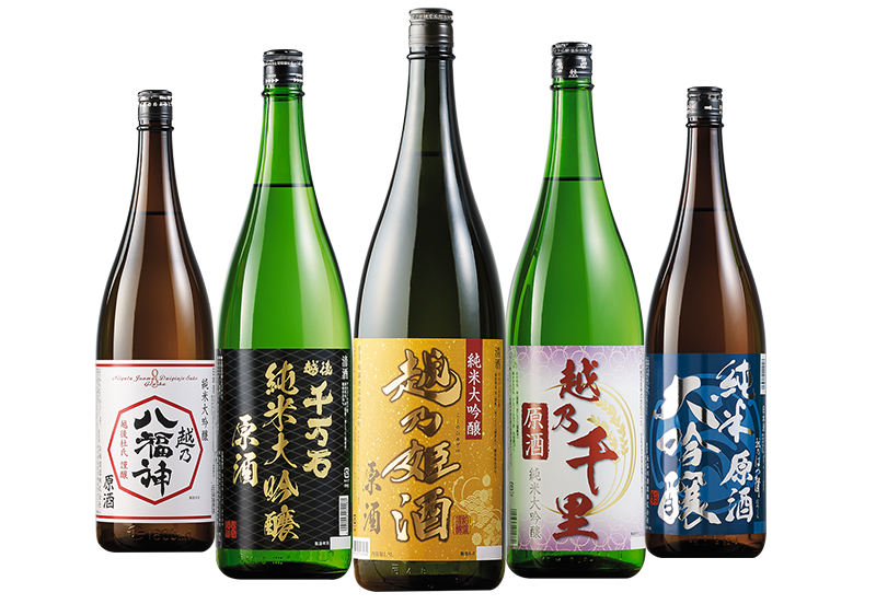 越乃五蔵純米大吟醸原酒