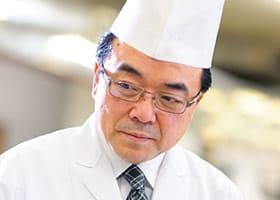 優香苑総料理長の多田 義男さん