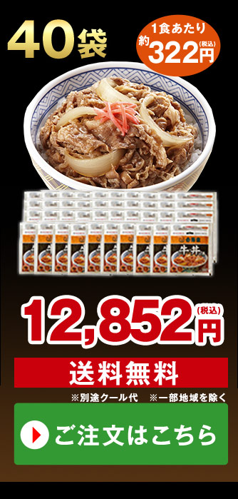 吉野家 大盛牛丼の具 40袋