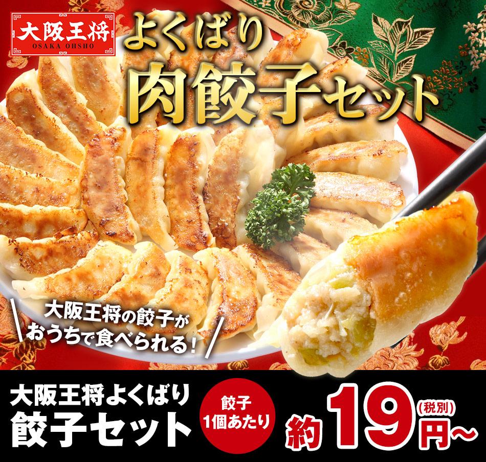 【ネット限定】大阪王将よくばり餃子セット