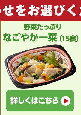 野菜たっぷり なごやか一菜
