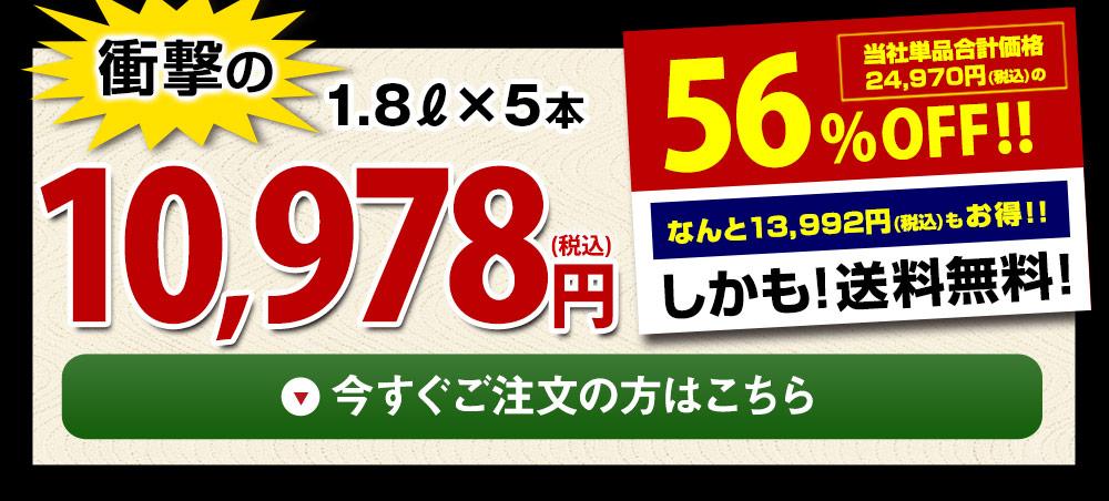 【驚きの56%OFF】特割!地酒蔵の大吟醸飲みくらべ一升瓶5本組