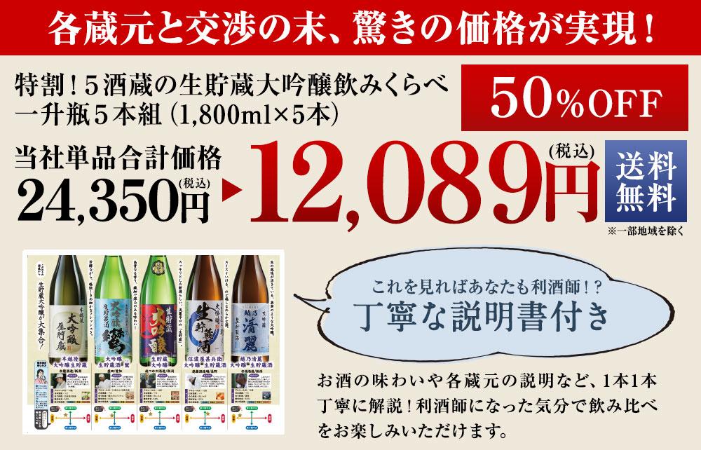 驚きの47%off