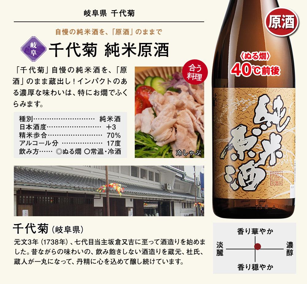 千代菊 純米原酒