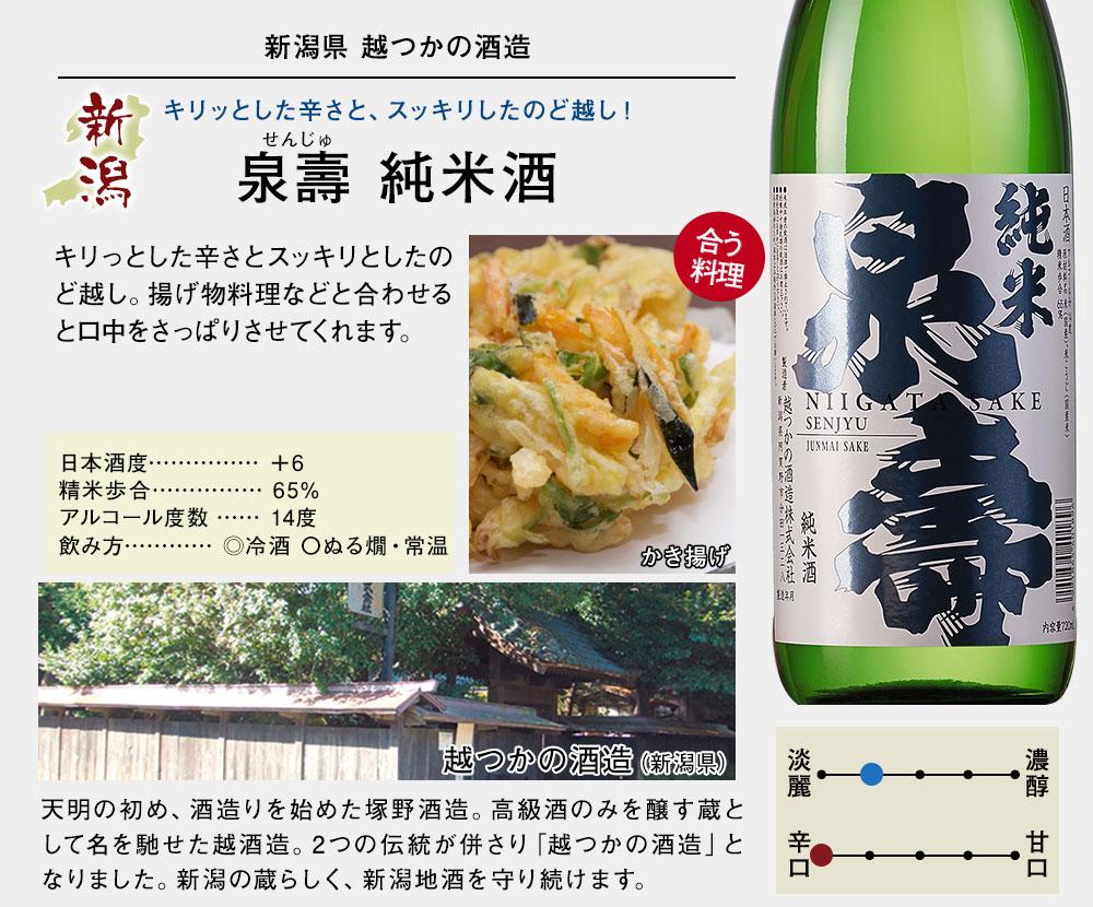 泉壽 純米酒