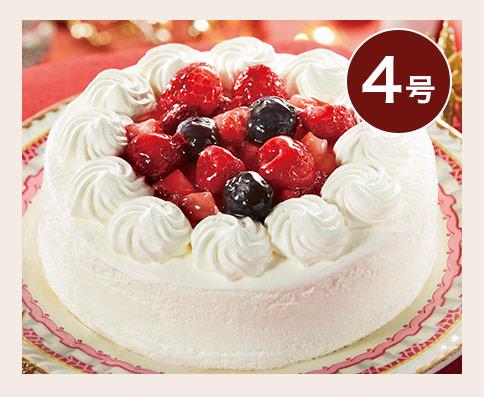 3種のベリーショートケーキ