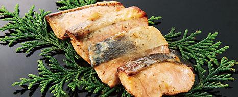 鱒の西京焼