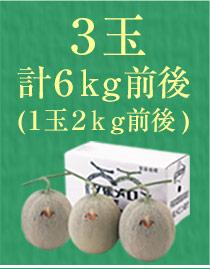 3玉(6kg)