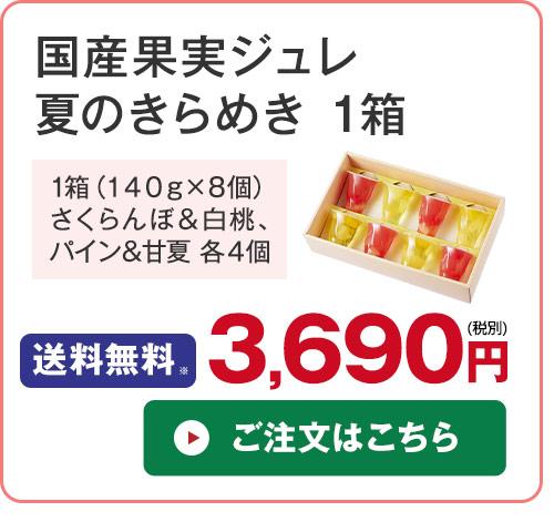 国産果実ジュレ夏のきらめき1箱