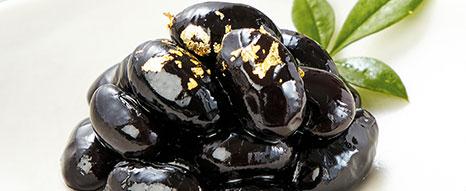 黒豆金粉飾り