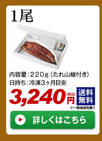 メガ!超特大!鹿児島県産うなぎ蒲焼き 1尾