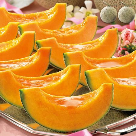 三浦さんのメロン特大2玉・4kg