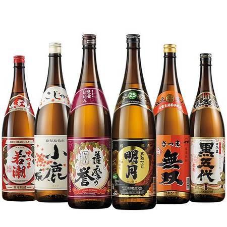 鹿児島・宮崎の受賞いも焼酎飲みくらべ一升瓶6本組