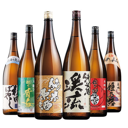 利酒師厳選の燗酒 飲みくらべ一升瓶6本組【第2弾】