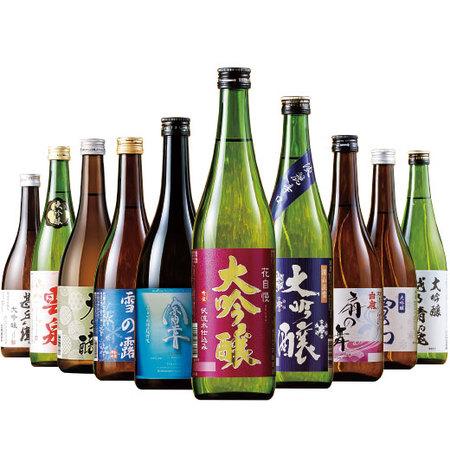 特割!全国10酒蔵の大吟醸飲みくらべ10本組【第2弾】