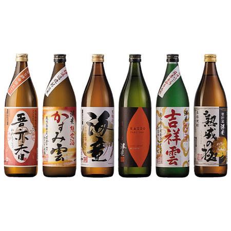濱田酒造芋焼酎6種飲みくらべ6本組