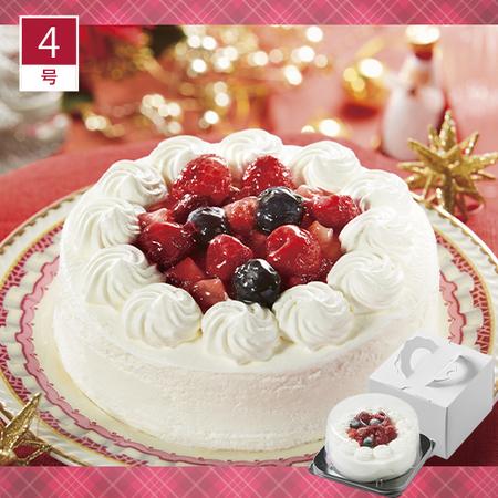 3種ベリーのショートケーキ